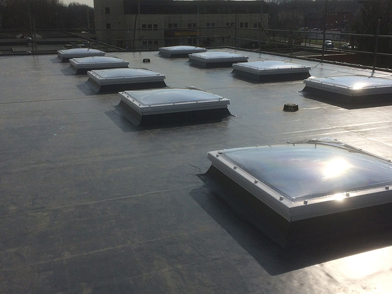 Case Study Milton Keynes Hospital Fenland Flat Roofing